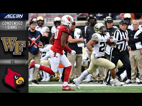 Wake Forest vs. Louisville Condensed Game | 2018 ACC Football