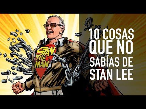 10 cosas que no sabías de Stan Lee