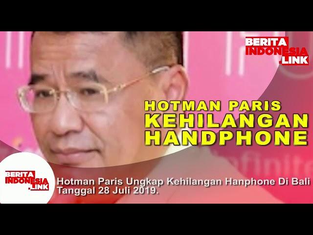 Hotman Paris kehilangan Handphone