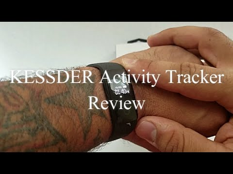 KESSDER Activity, sleep, and heart rate monitor Review (FitBit Cheaper Better Alternative)