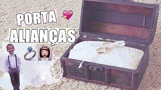 DIY| Porta-Alianças vintage ♥