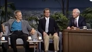 Clint Eastwood, David Letterman, Johnny Carson