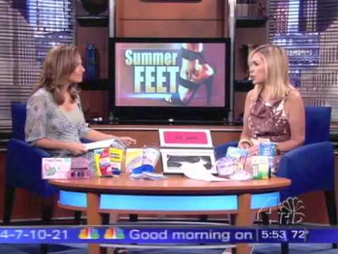 """today-in-ny---""""summer-feet""""---dr.-suzanne-levine"""