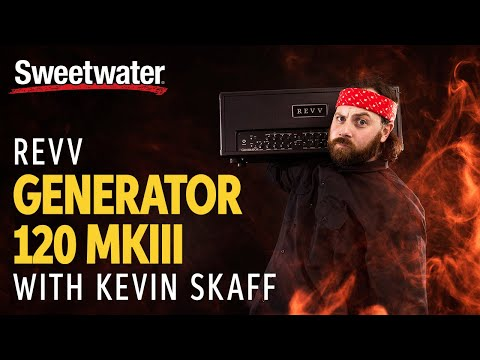 Kevin Skaff of A Day to Remember Demos the Revv Generator 120 MKIII Tube Amp Head