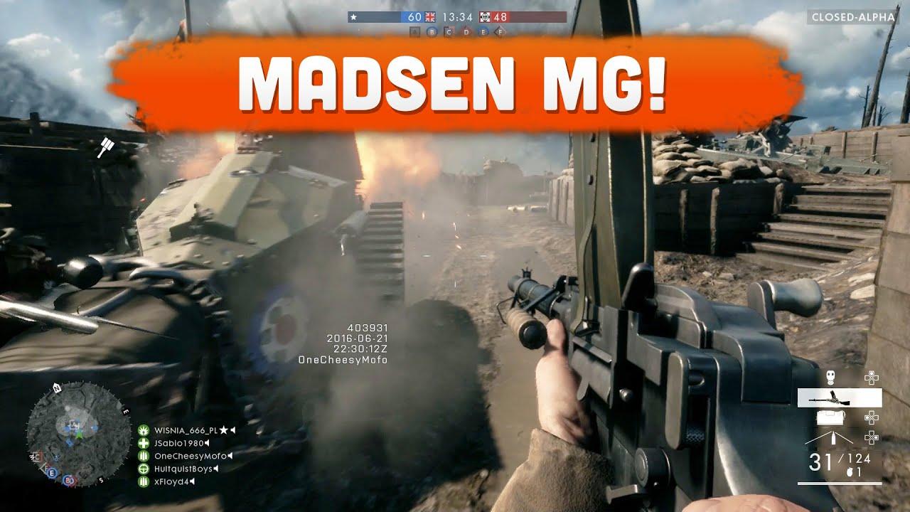 madsen machine gun