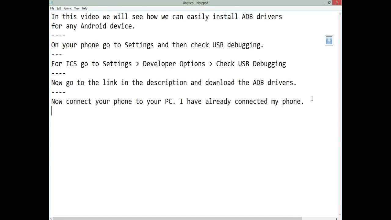 ADB installer 1 4 2 Free Download
