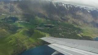 Take off from Queenstown Airport, Queenstown, New Zealand thumbnail
