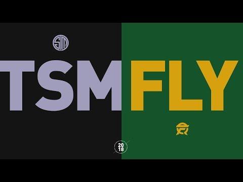 TSM vs. FLY - NA LCS Week 1 Match Highlights (Summer 2018)