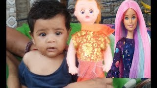 Kids Play With Baby Doll | Kids Car | Pari Toys Review