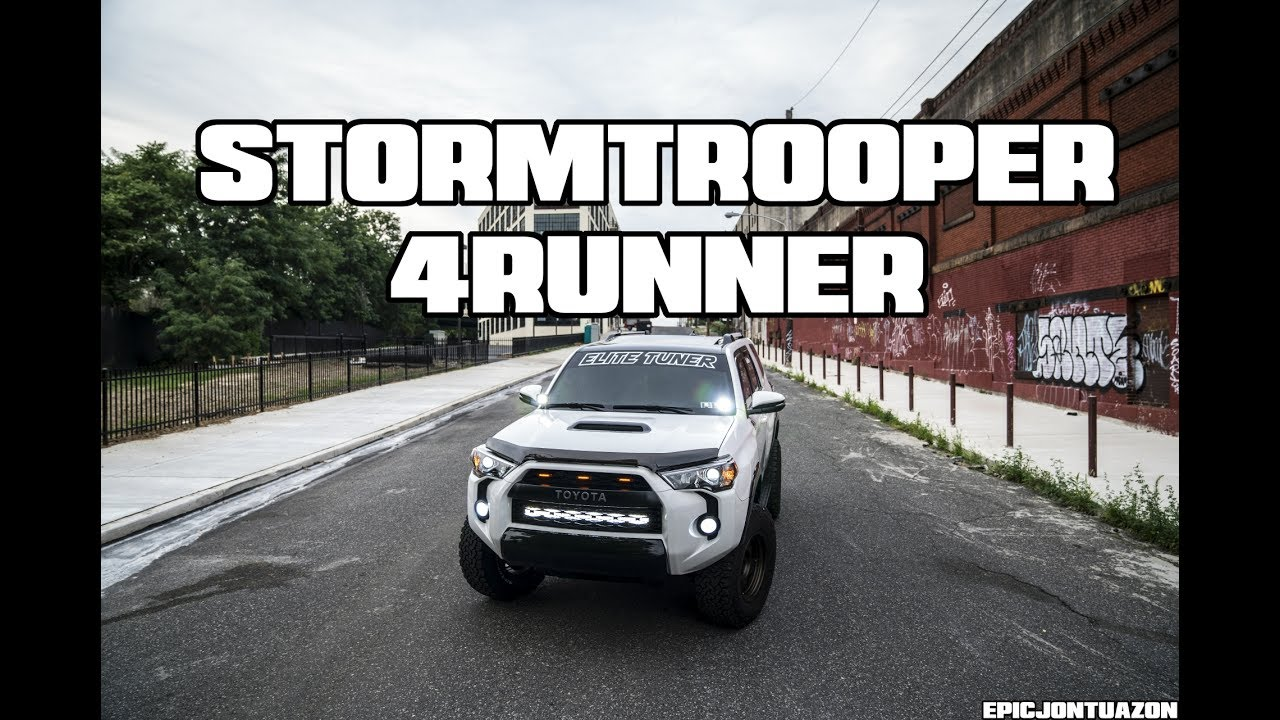 Toyota Com Tacoma >> StormTrooper   Joey's Toyota 4Runner - YouTube