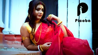 Model Shiuli in Saree - Banedi Look | Saree Lover | Saree Fashion | Saree Shoot | Picoba
