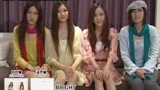 BRIGHT ♪1st single 「ソライロ」 (0804 release) メッセージ