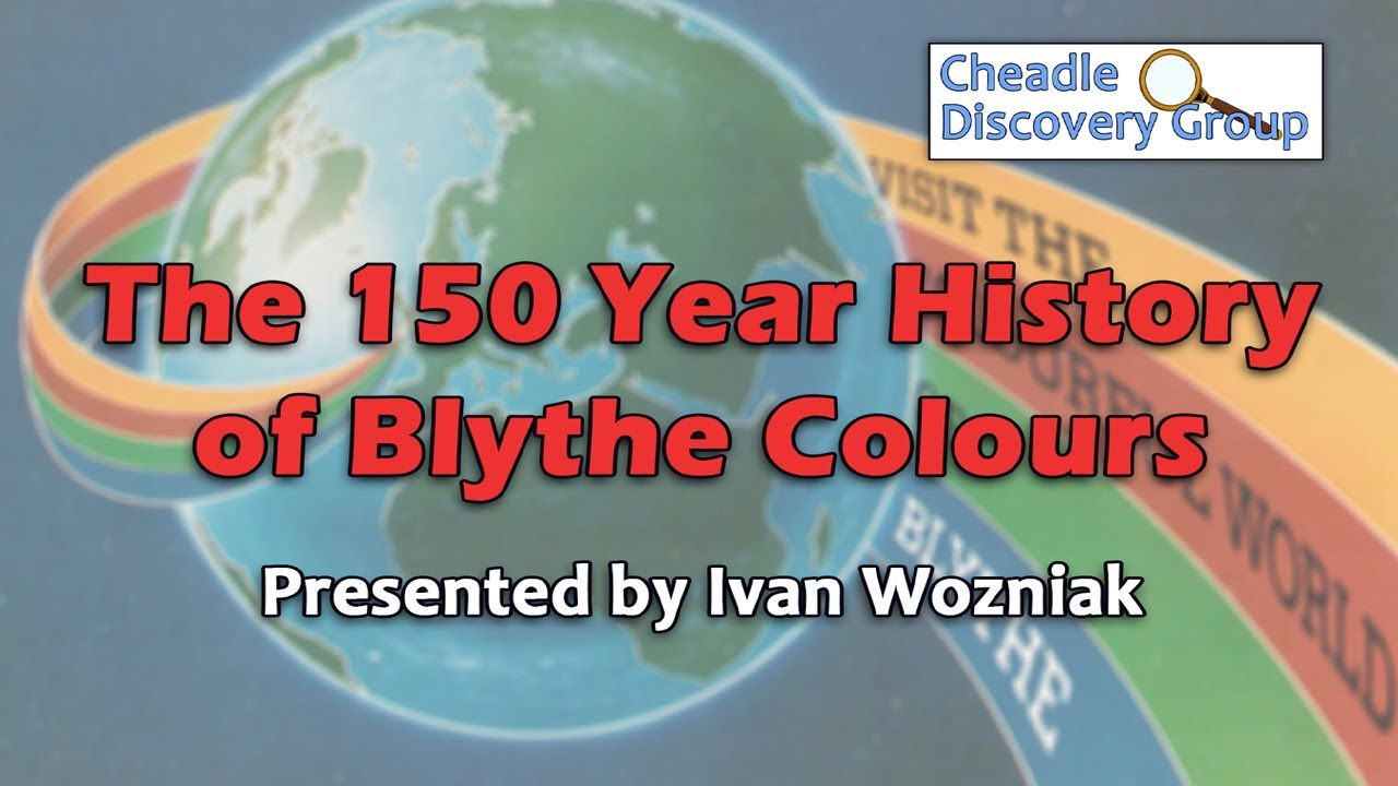 The 150 Year History of Blythe Colours