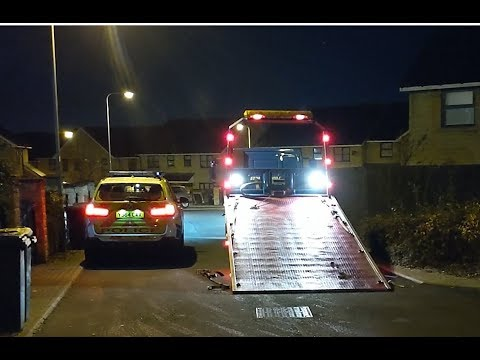 Stolen Range Rover SVR Automatrics MTrack Operation Bradford West Yorkshire