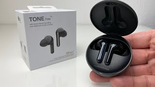 LG TONE Free FN7 Earbuds -  ANC - Wireless Charging - First Impressions