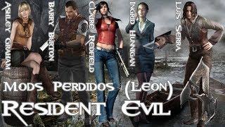 Resident Evil 4 -Mods Resgatados- Coletânea (Leon) e Mods Ganados da Vila (Perdidos)