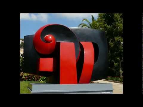 45 Abstract sculptures... 30 great sculptors... in 3 mn 30 !