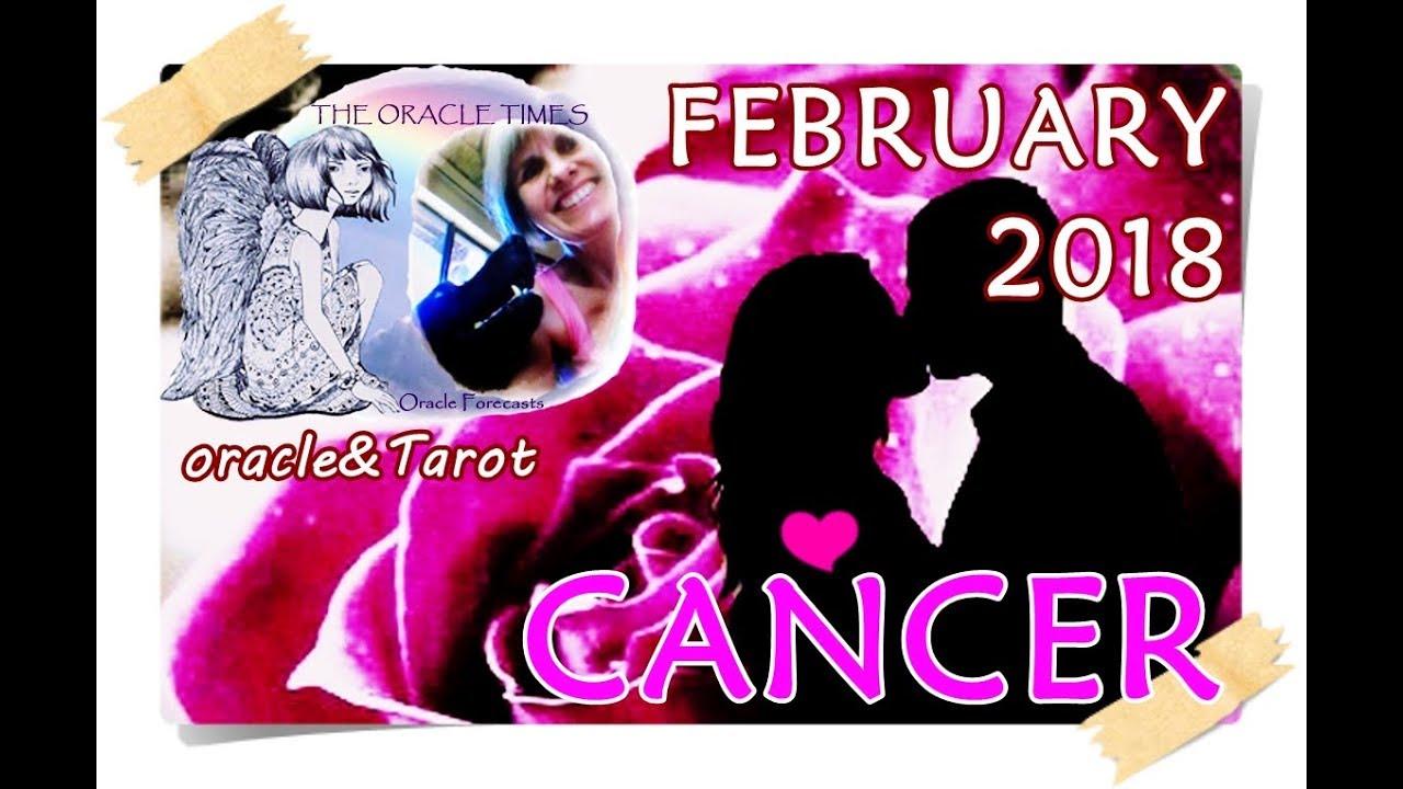 CANCER February 2018A NEW FUTURE AWAITS! Free LOVE& Career&General forecast