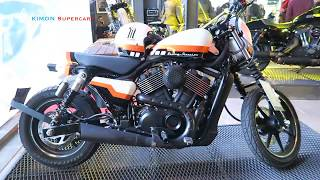 Harley-Davidson Street 750 Custom Built Bike!