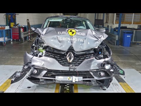 2016 Renault Scenic CRASH TESTS