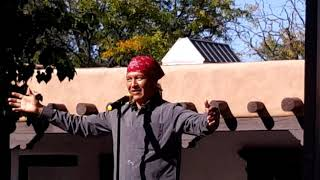 INDIGENOUS PEOPLES DAY 2019 - SANTA FE, NM  Ricardo Cate   Story Telling