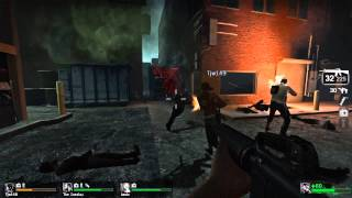 Left 4 Dead: Part 2 | Epic Gas Tank Explosion