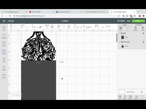 How to make invitations with Cricut machine