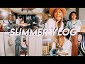 Summer Vlog: Back to School Shopping + Acting Debut?! || FarinaVlogs