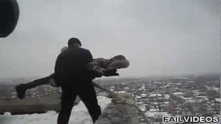 Russian Homemade Bungee Jump