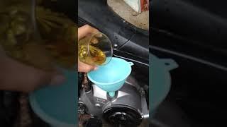 Penggunaan Minyak Goreng Campur di Mesin Motor