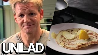 Gordon Ramsay F*cking Loves Making Pancakes | UNILAD