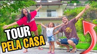 TOUR PELA NOSSA CASA ! 🏠