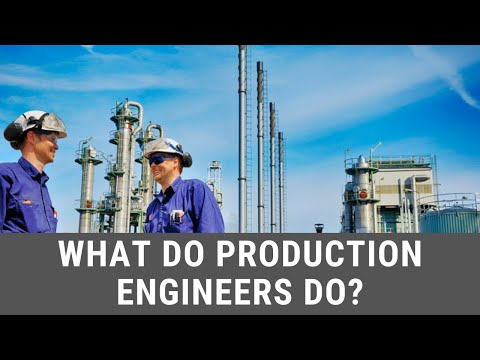 What Do Production Engineers Do in the Oil and Gas Industry?