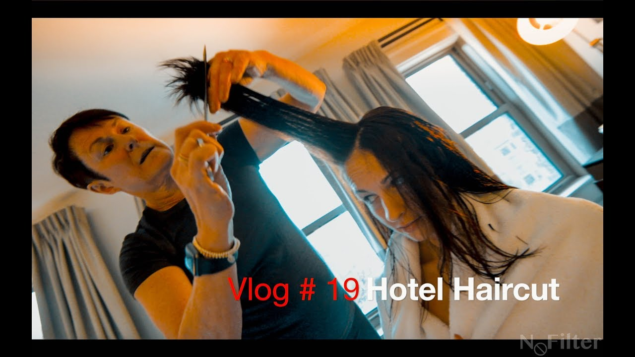 Vlog #19 : Hotel Haircut