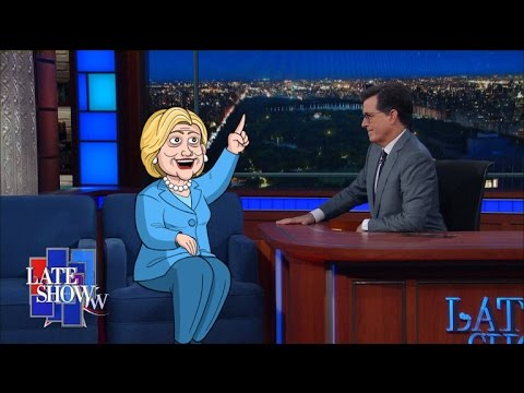 Cartoon Hillary Clinton Has Completely Vanished