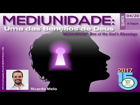 KSSF - Palestra - Mediunidade: Uma das Bencaos de Deus - Ricardo Melo - Abril
