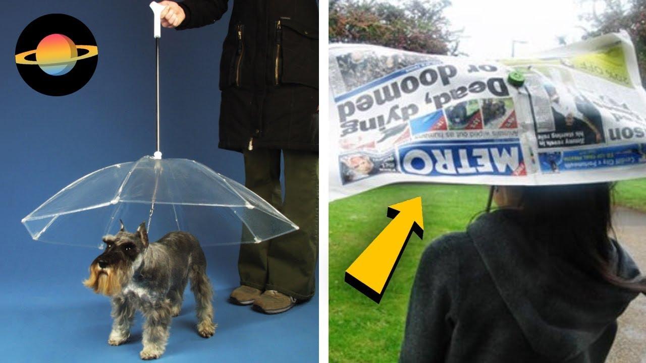 10 najdziwniejszych parasolek na świecie