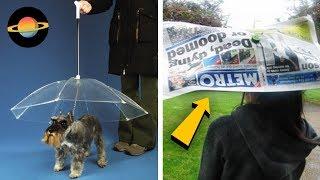 10 najbardziej kreatywnych parasolek
