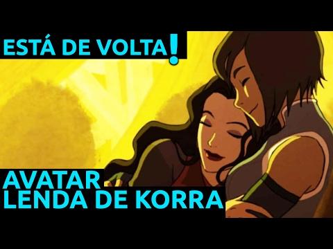 Esta De Volta Avatar Lenda De Korra Youtube