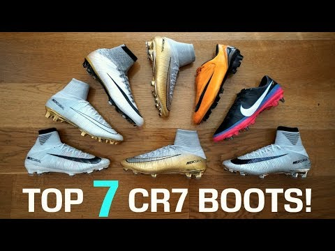 TOP 10 Cristiano Ronaldo CR7 Football Boots (2003 2018