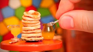 COOKING A TINY STACK OF FLAPJACKS!