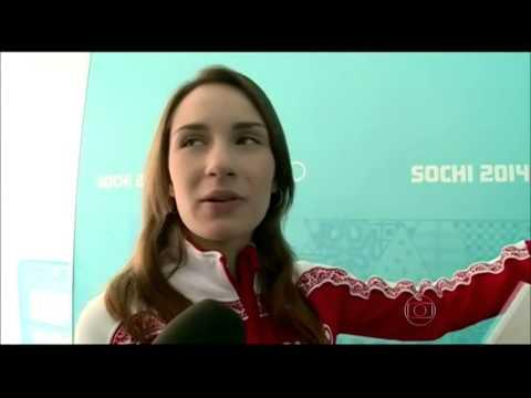 Entrevista da linda Anna Sidorova para o Globo Esporte