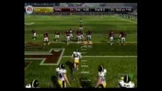 NCAA 08 PS2 Online zephfly vs. NOT DRAFTED highlights