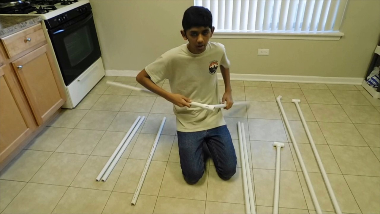 How To Make A Diy Pvc Pipe Photo Booth Easy Portable Fun Youtube