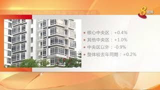 本地8月私宅转售价同7月持平