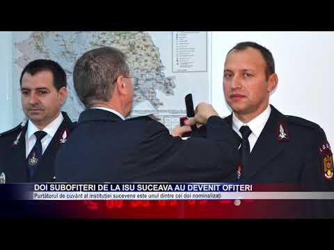 Doi subofițeri de la ISU Suceava au devenit ofițeri