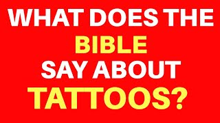 10 Bible Verses About Tattoos | Get Encouraged