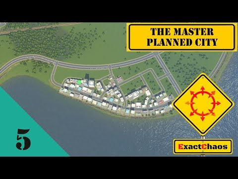 The Master Planned City #5 - A waterfront commercial distric