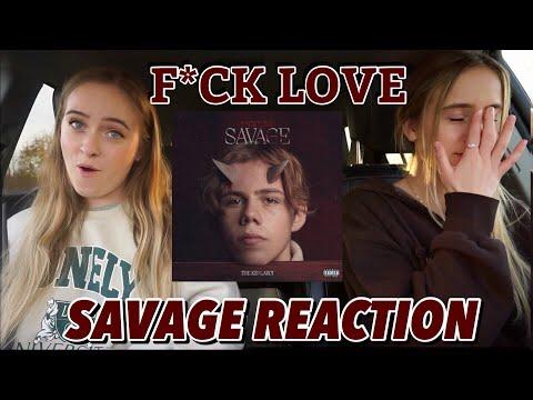 Reacting to The Kid Laroi Savage Album Brooke and Taylor