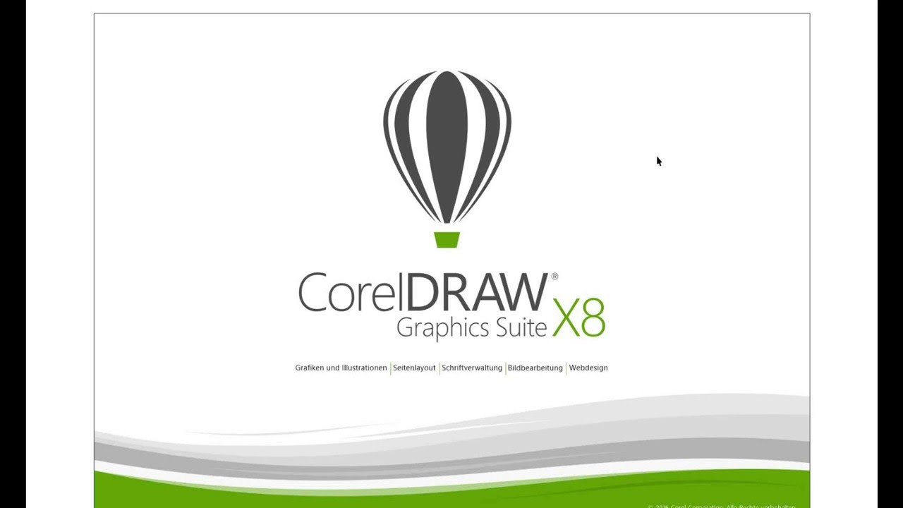 Coreldraw Graphics Suite X8 Einf Hrung German Youtube